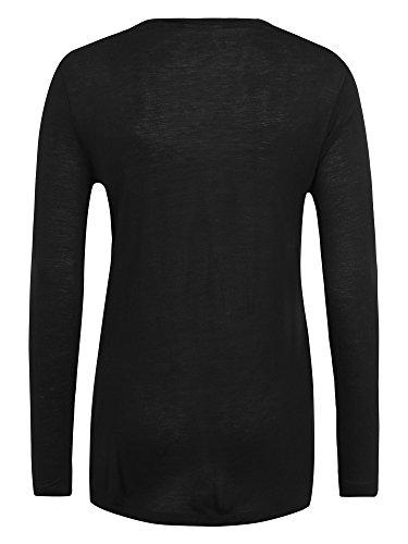 CHEAP MONDAY Stockholm Camiseta manga larga Mujer negro