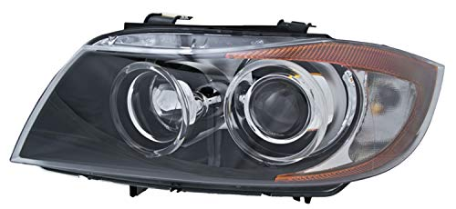 HELLA 354688051 Driver Side Headlight - Bi Xenon Assembly