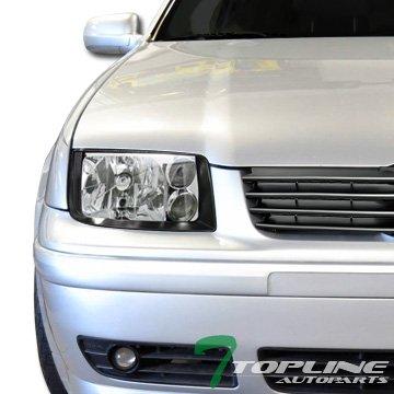 02 Vw Volkswagen Jetta Headlight - 6