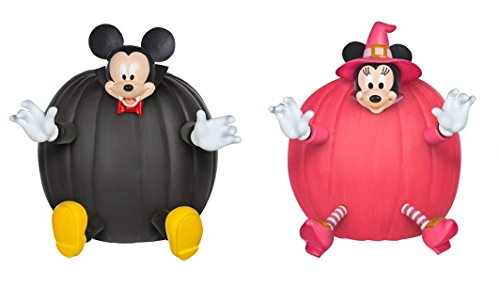 Set of 2 Disney Push-In Pumpkin Decorating Kits (Mickey & Minnie)