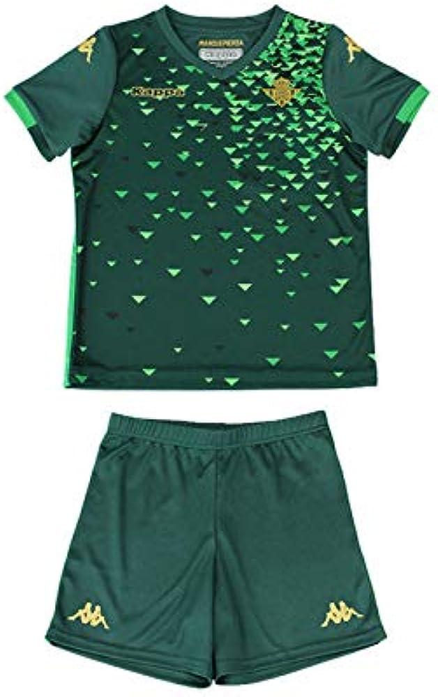 Kit Réplica 2ª equipación para bebés - Real Betis Balompié 2018/2019 - Kappa Replica Babykit Away - Bebé: Amazon.es: Ropa y accesorios