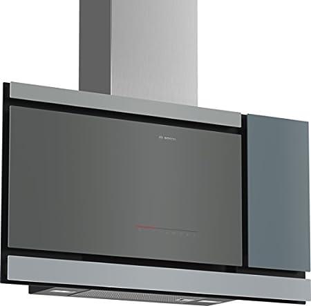 Bosch Serie 8 DWF97MP70 Wall-mounted cooker hood Plata 730m³/h A ...