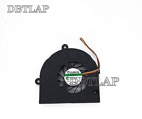 DBTLAP Ventilador de la CPU del Ordenador portátil para Acer Aspire 5742 5742Z 5742ZG 5333 5733 5733Z 5736 5336 5736G 5736Z MF60120V1-C040-G99 Ventilador
