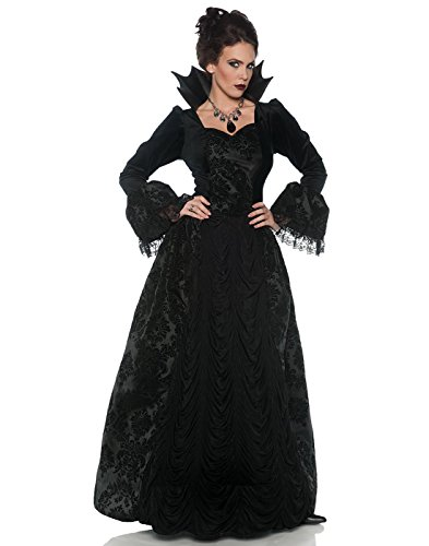 Underwraps Women's Gothic Storybook Evil Queen Ball Gown - Small ()