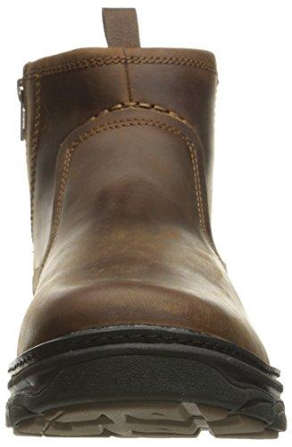Skechers Usa Mens Resment Korver Chukka Boots Mörkbrun