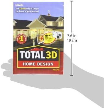 Amazon Com Total 3d Home Design Deluxe Software