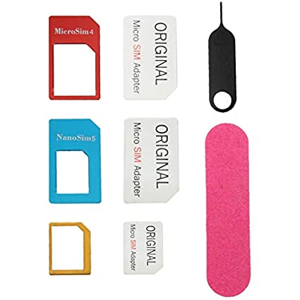 Niza Nano SIM a Micro SIM adaptador + Nano SIM a la norma ...