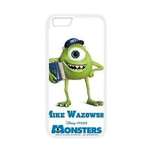 Monsters 010 funda iPhone 6 Plus 5.5 Inch Cubierta blanca del teléfono celular de la cubierta del caso funda EOKXLKNBC24197