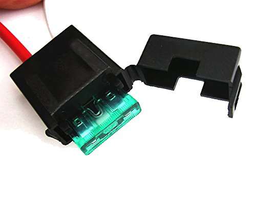 iJDMTOY (1 12V Horn Wiring Harness Relay Kit Compatible with Car Truck Grille Mount Blast Tone Horns (Actual Horn Not Included)