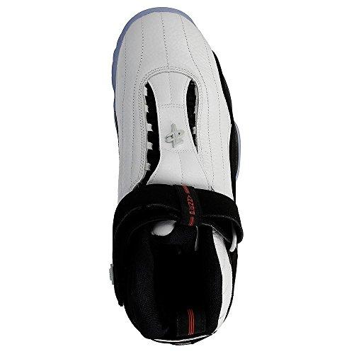 Nike Air Penny IV White Black-True Red