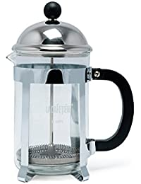 La Cafetiere Optima 6-Cup French Press (Chrome) Key Pieces