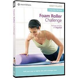 STOTT PILATES Foam Roller Challenge (English/Spanish)