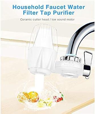 QHAI Filtro hogar Grifo de Agua, Grifo purificador Sistema de ...