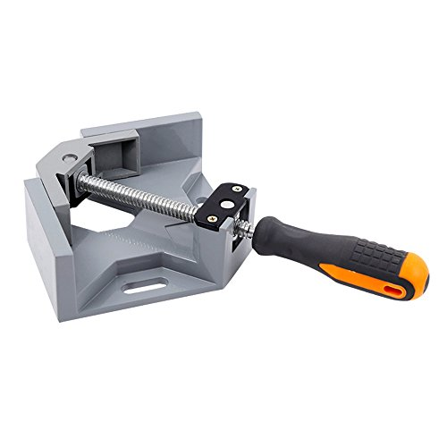 Frylr Heavy Duty 90 Degree Angle Clamp, Swing Jaw, Corner Clamp Adjustable Vise With Single Handle, Welding Woodworking