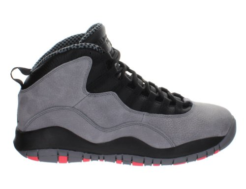 the best attitude f169a f5906 Nike Men's Air Jordan Retro 10, COOL GREY/INFRARED-BLACK, 8.5 M US -  FrenzyStyle