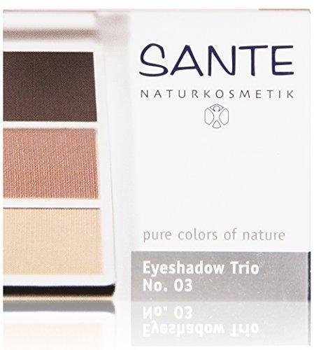 - Sante Eyeshadow Trio Rose Wood 03, 4.72 Gram by Sante