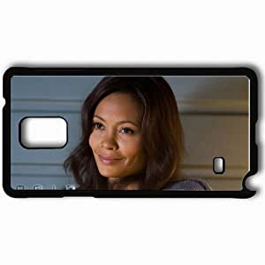Personalized Samsung Note 4 Cell phone Case/Cover Skin 2012 Thandie Newton Laura Wilson face Movies Black