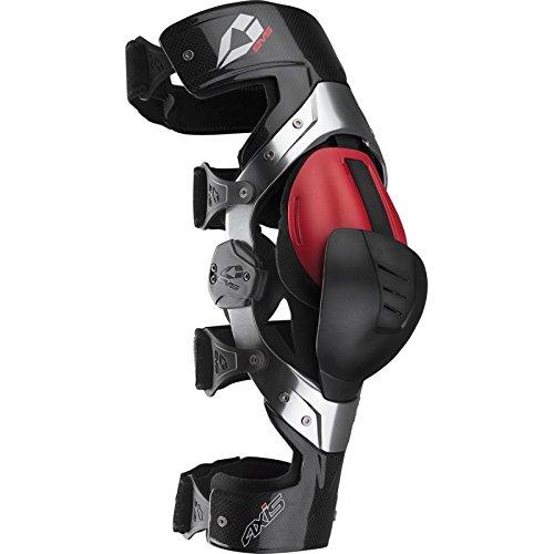 EVS 3230 Kniebandage Schwarz Rot Größe L