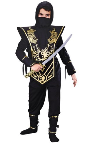 Ninja Costumes Kids Lord (Child Ninja Lord Costume (Small,)