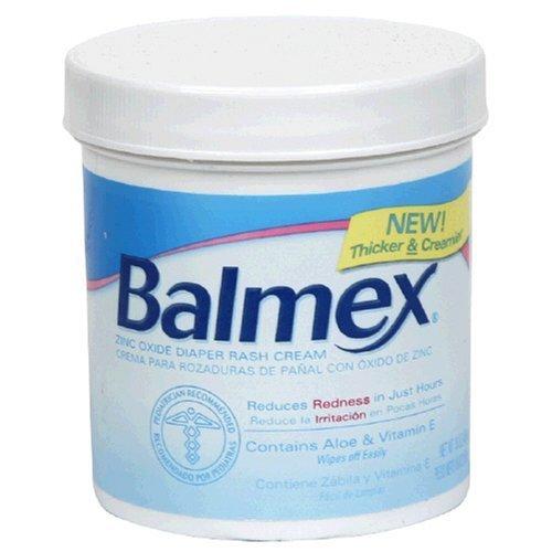 Balmex Diaper Rash Cream With Zinc Oxide 16 oz (Pack of 2) by Balmex