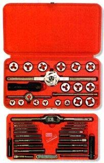SEPTLS58524606 - Irwin hanson Machine Screw/Fractional Tap amp;amp; Die Super Sets - 24606