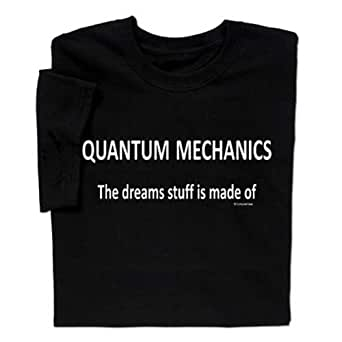 Amazon.com: ComputerGear Quantum Mechanics T-shirt: Clothing
