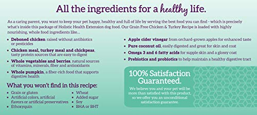Health Extension Grain Free Chicken & Turkey Recipe, 23.5-Pounds 4