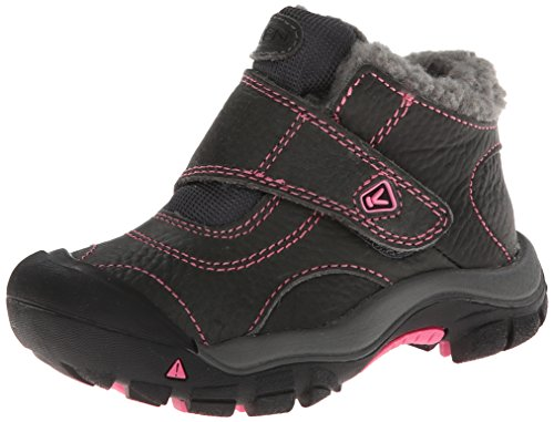 [KEEN Kootenay Winter Boot (Toddler/Little Kid), Magnet/Shocking Pink, 9 M US Toddler] (Boots Shoes For Kids)