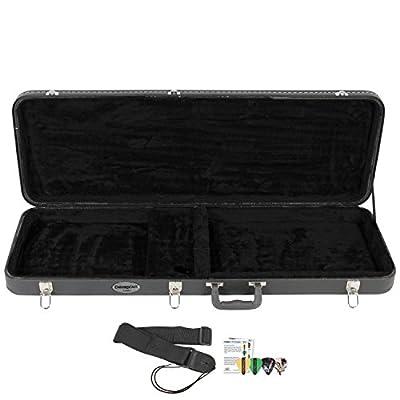 ChromaCast Guitar Hard Case with Nylon Strap & Pick Sampler