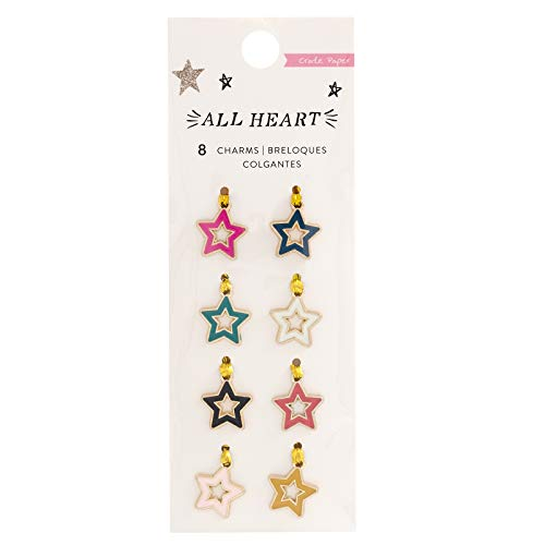 Crate Paper 350861 Charms, Multi