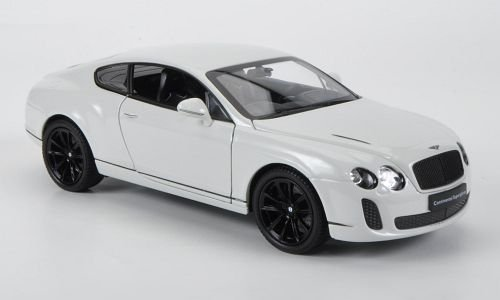 Bentley Continental Supersports, white , Model Car, Ready-made, Welly 1:24 (Bentley Model Car compare prices)