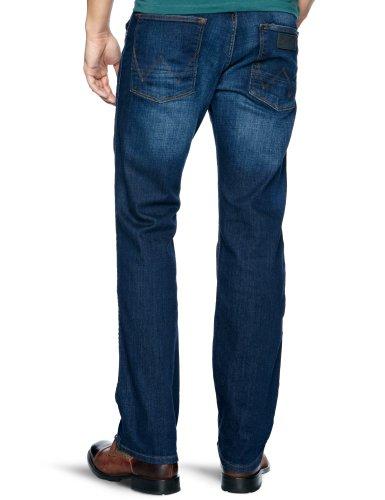 Wrangler Herren Ace Straight Leg Jeans Gr. W36/L32, Blue (Morning Frost)