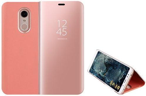 Funda® Espejo Enchapado Flip Xiaomi Redmi 5 Plus (Oro Rosa ...