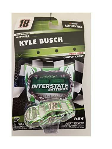 NASCAR Kyle Busch Interstate Batteries Authentics 2018 Wave 6 - Interstate Batteries Nascar