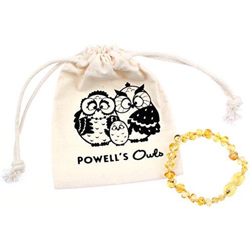 Baltic Amber Teething Bracelet or Anklet for Babies,