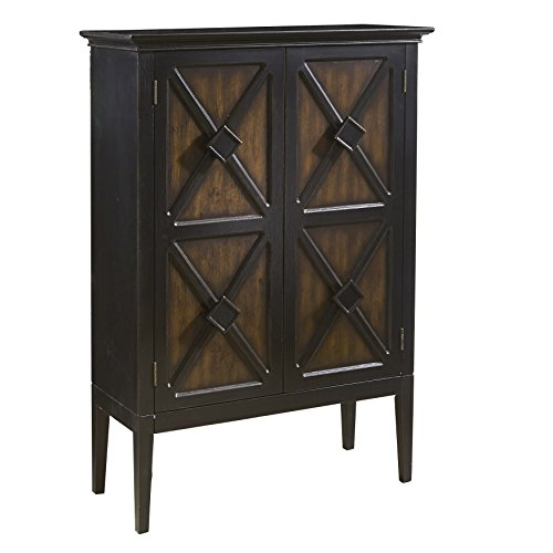 Pulaski Norman Finish Accent Cabinet with Wine Storage ()