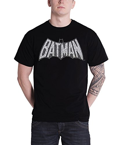 Batman+Retro+Shirts Products : Batman T Shirt Mens Batman Retro Crackle Logo Official Dc Comics Black
