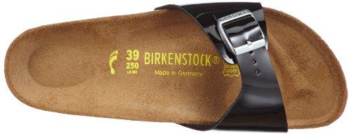 Birkenstock Madrid - Zuecos de material sintético mujer SCHWARZ  LS PINK