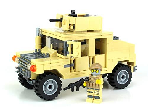Battle Brick Army Armored Humvee Custom Set