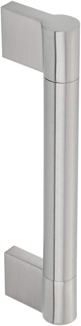 centre des trous 128/mm Nickel satin/é Basics AB4500-SN-10 Poign/ée de placard Longueur 153/mm