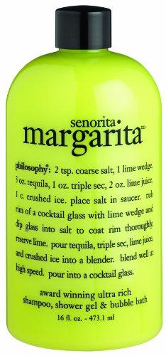 La philosophie Senorita Margarita shampooing/douche Gel/Bubble Bath, 16 onces