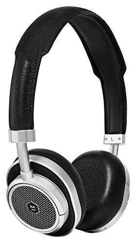 (Master & Dynamic MW50+ Wireless Bluetooth Headphones with 40mm Beryllium Driver for Superior Sound, Interchangeable 2-in-1 Design, Converts from Over-Ear Headphones to On-Ear Headphones, Silver/Black)