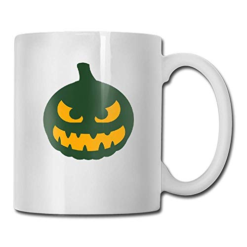 Mydufish Funny Coffee Mug,mugs Halloween Kuerbis F2 Tea Cup ()