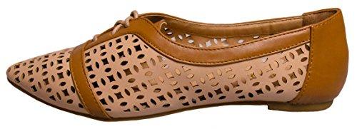 Womens shoe 38 Bamboo Object flat Nude 6wpSqdZ