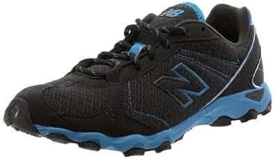 New Balance Women's WL661 Sneaker,Black/Blue,5 B US