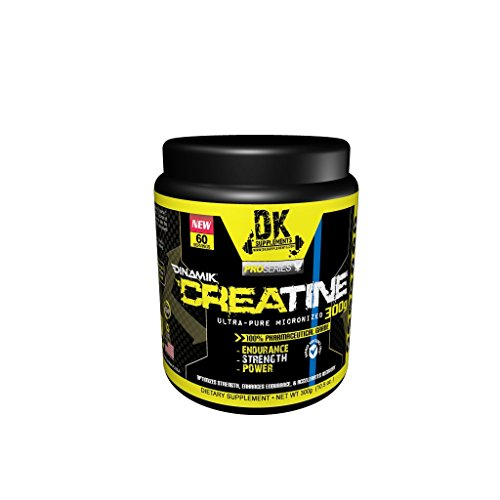 CREATINE MONOHYDRATE 300/500 GRAMS