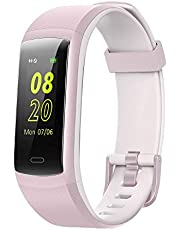 Willful Fitness Tracker, Color Screen Activity Tracker Heart Rate Monitor IP68 Waterproof Pedometer Step Counter Watch Sleep Monitor Calorie Counter Smart Watch for Android iPhone iOS Phones