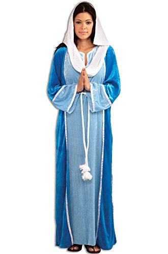 Forum Novelties Women's Deluxe Biblical Virgin Mary Costume, Blue, Standard]()