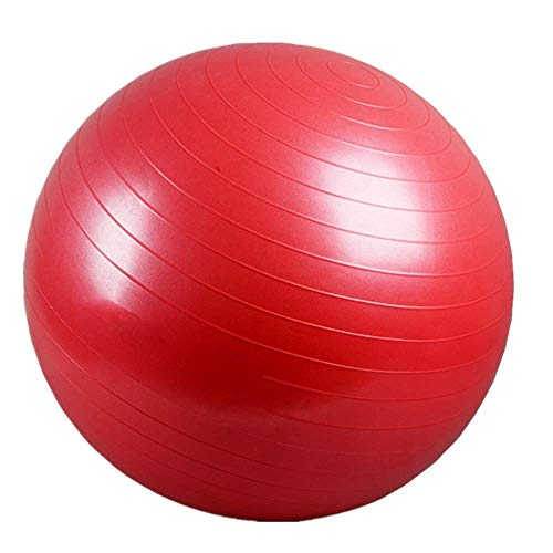 CHAOZHAOHENG Yoga Fitness Ball, Super Stretch Yoga Ball, Explosion Proof Professional Quality, Stable, Balance - Includes Workout Guide and Quick Pump for Fitness, Yoga