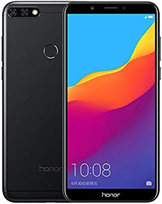 Honor 7C Dual SIM – 32GB, 3GB RAM, 4G LTE, Black: Amazon com